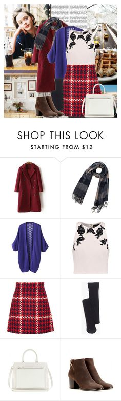"""""""Winter Dreaming"""" by africagirls ❤ liked on Polyvore featuring NOIR Sachin + Babi, Miu Miu, Madewell, Victoria Beckham and Jimmy Choo"""