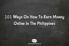 Ways, techniques, and strategies on how to earn and make money from the internet in the Philippines. #onlinebusiness