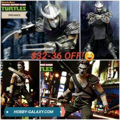 Pre-Order at Hobby-Galaxy.com!  #tmnt #tmnt2012 #tmnt2 #tmntmovie #teenagemutantninjaturtles #teenagemutantninjaturtle #shredder #caseyjones #footclan #ninjaturtles #ninjaturtle #actionfigures #actionfigure #onesix #onesixthfigure #onesixscale #onesixthrepublic
