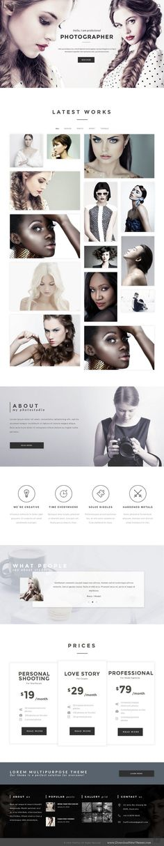 Lorem is a fully responsive, creative multipurpose HTML #Template using most popular design and fashion trends. #photography #website Download Now➝ http://themeforest.net/item/lorem-premium-creative-art-and-business-multipurpose-html-template/16068266?ref=Datasata