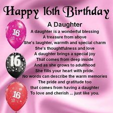 Sweet 16 For My Daughter Quotes QuotesGram