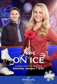 """Love on Ice"" movie on the Hallmark Channel."