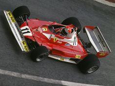 Niki Lauda Ferrari 1977