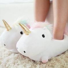 'Unicorn Light My Life' Slippers