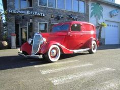 FOR SALE: 1934 Ford Sedan Delivery *Original Steel*
