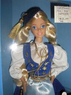 Vintage Barbie Dolls of The World Icelandic 1986 Mattel  #Mattel #DollswithClothingAccessories