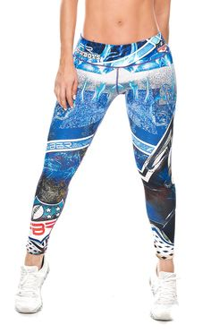 Show your love for the Dallas Cowboys in these exclusive leggings made from the highest quality material. The luxe fabric moves & stretches with you while the think flat waistband keeps your belly fla
