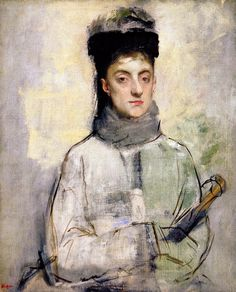 Portrait by Edgar Degas