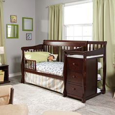 19 Best Baby Crib With Changing Table Attached Images Crib With