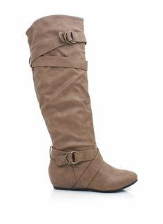 leather riding boots - GOT THEM yayyy! (: