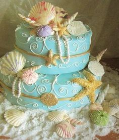 Katie Walton!! This is the prettiest beach cake I've seen yet!! I love it :D