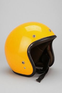 Vintage '70s Yellow Novelty Helmet for 109.00!  My challenge to find one for 10.00; might be less since I think my uncles will have one; though maybe not in yellow..