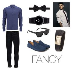 """Fancy outfit for men"" by michael98 ❤ liked on Polyvore featuring Tod's, Orlebar Brown, Boohoo, Lanvin, Movado, Salvatore Ferragamo, women's clothing, women, female and woman"