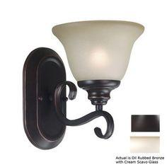 Kenroy Home Welles Oil-Rubbed Bronze Bathroom Vanity Light