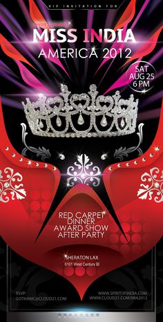 Miss India America 2012 - Beauty Pageant (Cloud 21 PR: Publicity, PR and Social Media Marketing)