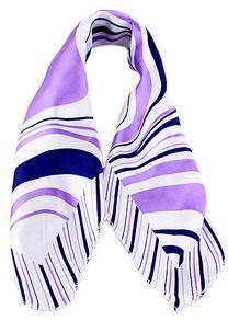 écharpe à rayure de mode -violet