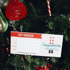 Order a Delicious Dublin Tours gift voucher this Christmas! www.deliciousdublintours.com Dublin Tours, Gift Vouchers, Merry, Christmas Ornaments, Holiday Decor, Gifts, Instagram, Presents, Christmas Jewelry