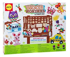 ALEX Toys Craft Wood Wonders Ultimate Set: Alex Toys: Amazon.co.uk: Toys & Games