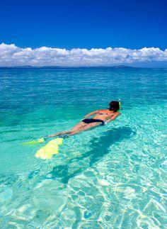 Snorkel at South Sea Island Fiji