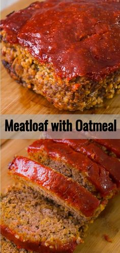 Meatloaf with Oatmeal is an easy ground beef dinner recipe. This easy meatloaf r… Meatloaf with Oatmeal is an easy ground beef dinner recipe. This easy meatloaf recipe is made with quick oats and Lipton onion soup mix. Food Work, Classic Meatloaf Recipe Easy, Meatloaf With Oatmeal, Lipton Onion Soup Mix, Lipton Meatloaf Recipe, Onion Soup Recipes, Meat Loaf Recipe Easy, Meat Recipes For Dinner, Recipes