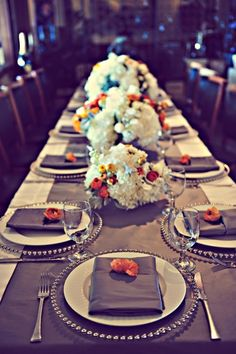 Tablescape - Photo by Tamiz Photography, Flowers by Bella Bloom, Design by Belle Destination Weddings & Events