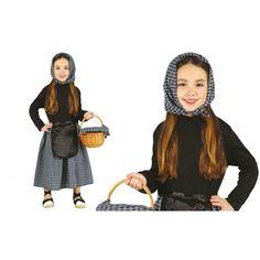 Disfraz de Castañera para Niña Costumes, Dresses, Ideas, Fashion, Infant Dresses, Monsters, Children Costumes, Thick Tights, Festivals