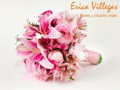 Bouquet con detalles de plumas de Erica Villegas Atelier Floral | Foto 5