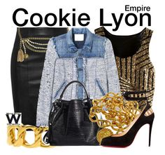 Empire by wearwhatyouwatch on Polyvore featuring Rebecca Taylor, Chanel, television and wearwhatyouwatch