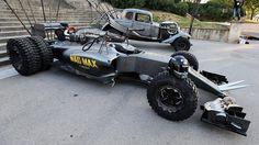 It's the Lotus Mad Max F1 car!