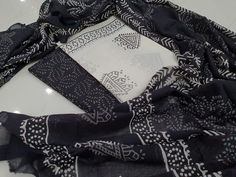 Kirans Boutique jaipur The post Black and White Cotton salwar kameez set with mulmul dupatta appeared first on Kiran& Boutique. Continue reading Black and White Cotton salwar kameez set with mulmul dupatta at Kiran& Boutique. Salwar Pants, Cotton Salwar Kameez, Patiala Salwar, Suits For Sale, Suits For Women, Do Perfect, Chinese Collar, Neck Deep, Cotton Suit