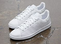 low priced 2d81a 5c5f6 Adidas Stan Smith Midsummer Weave Grey Baskets Grises, Chaussures De Ville,  Vestes, Nouvelle