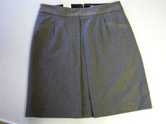 NEW Old Navy Womens Skirt 6 Stretch Brown Lined CLEARANCE SALE