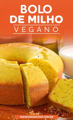 Quer Aprender a Preparar uma Deliciosa Receita de Bolo de Milho Vegano? Clique neste Pin e Bom Apetite! Vegan Foods, Vegan Snacks, Vegan Desserts, Tortillas Veganas, Vegan Candies, Vegetarian Recipes, Cooking Recipes, True Food, Vegan Cake