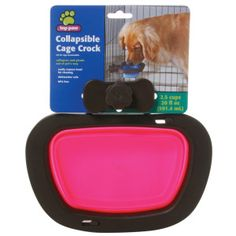 Top Paw® Collapsible Cage Crock Kennel Pet Bowl | Food & Water Bowls | PetSmart