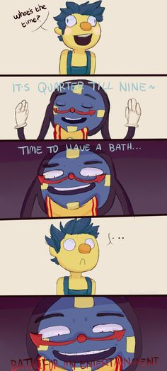 bathtime by AllSeeingOwl on DeviantArt