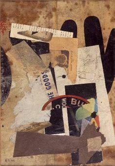 Kurt SCHWITTERS -  He Goods, 1944