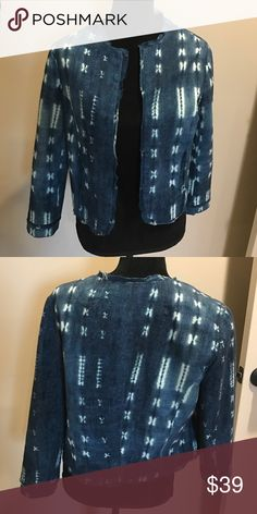 Boutique ladies denim Jacket Sz M By Lil from a local boutique, new never worn! lil Jackets & Coats