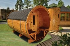 Sauna Barrel..... did we mention this www.tuin.co.uk