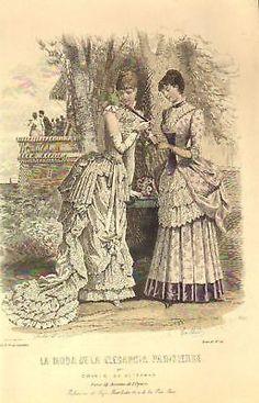La Moda de la Elegancia Parisiense 1883