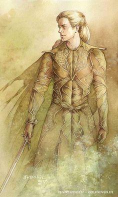 - Warrior Thranduil. The Art of Jenny Dolfen.