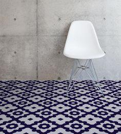 Zelfklevende vloertegels - vinyltegels Casablanca van Zazous - Self adhesive vinyl floortiles Casablanca by Zazous http://www.funky-friday.com/zelfklevende-vloertegels-vinyltegels-casablanca-per-m2.html
