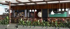 contenedor restaurante - Buscar con Google Container Bar, Container Restaurant, Pergola, Outdoor Structures, Food Truck, Outdoor Decor, Google, Home Decor, Restaurants