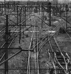Michael Kenna Railroad History, Train System, Railroad Photography, Train Pictures, Model Train Layouts, Train Tracks, Model Trains, Locomotive, Railroad Tracks