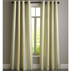 Ribbon Stripe Curtain- Pier 1 Imports