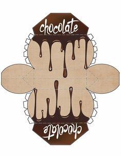 Chocolate Drips Mini Purse Large
