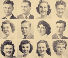 1940's Male & Female Hairstyles
