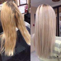 Ideas For Silver Hair Makeup Haircolor Balayage Brunette, Balayage Hair, Matrix Hair Color, Hair Color Formulas, Hair Color For Women, Long Wavy Hair, Blonde Color, Silver Hair, Trendy Hairstyles