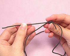 adjustable choker necklace tutorial  by Emma Ralph