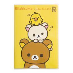 Rilakkuma 2015 schedule book -- available now!! o(^▽^)o