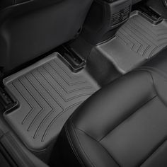 2015-2017 Mercedes-Benz GLA45 AMG Black Weathertech Rear FloorLiner